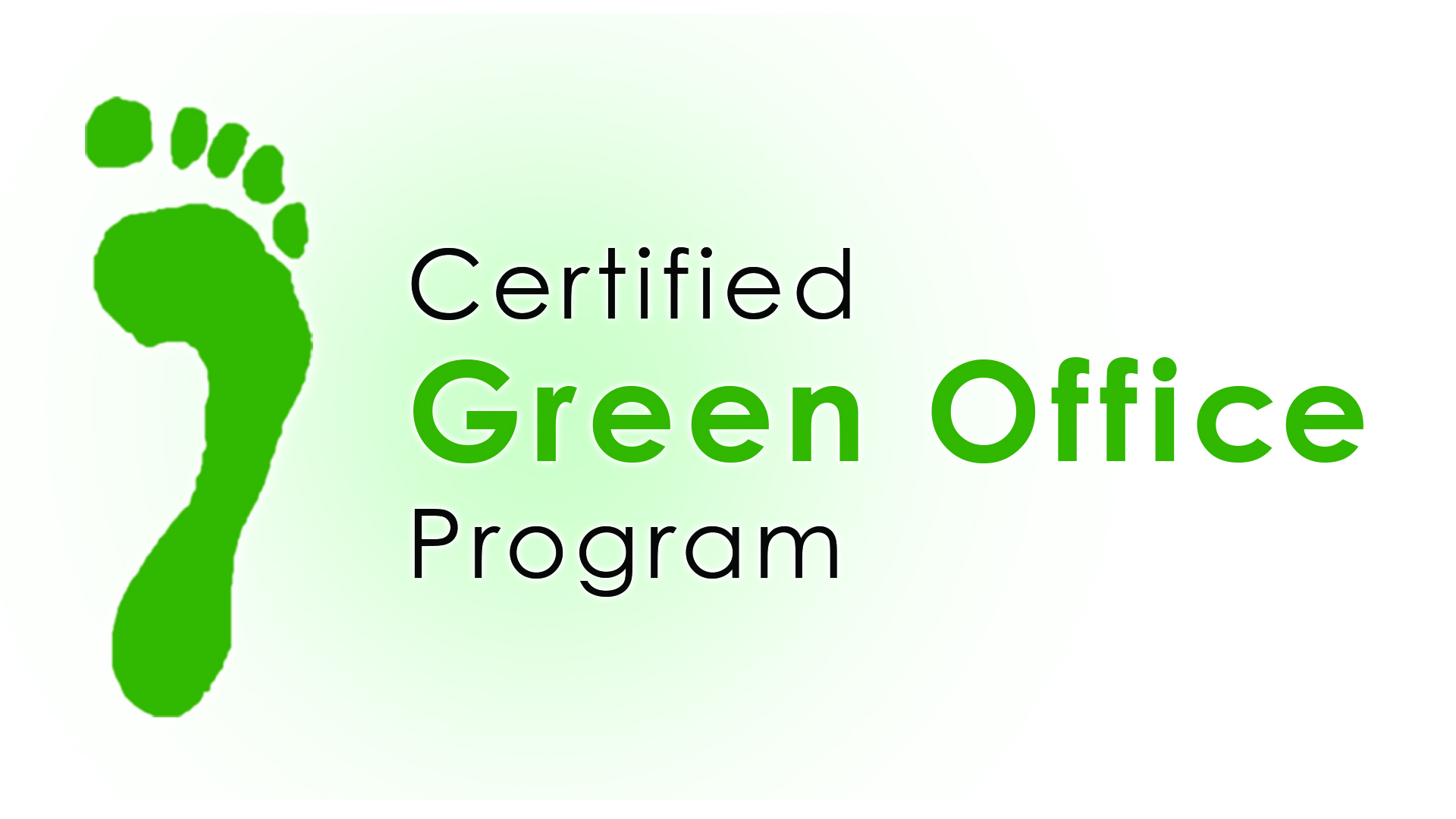 Certified Green Office Program logo