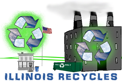 2017 Illinois Sustainable Award winners recycle
