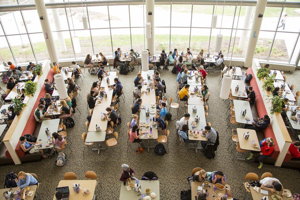 UI dining hall