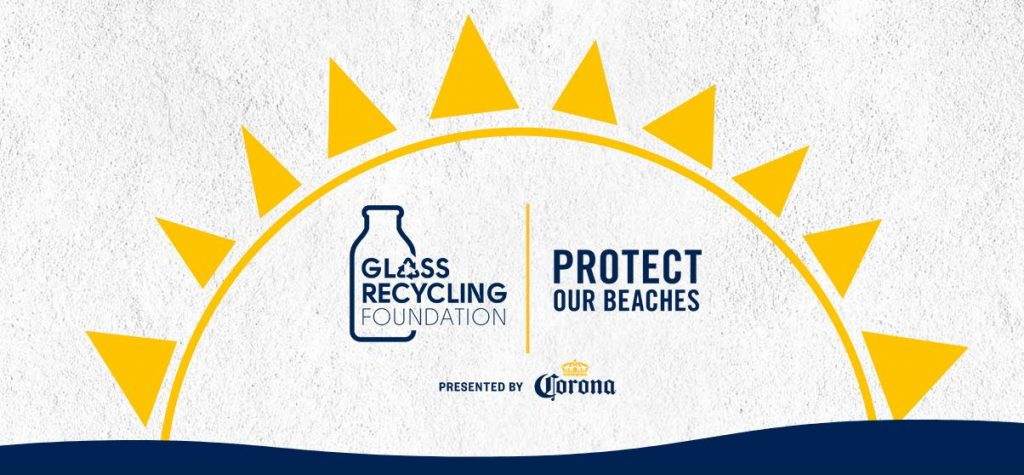 Corona Protect Our Beaches and Glass Recycling Foundation logo