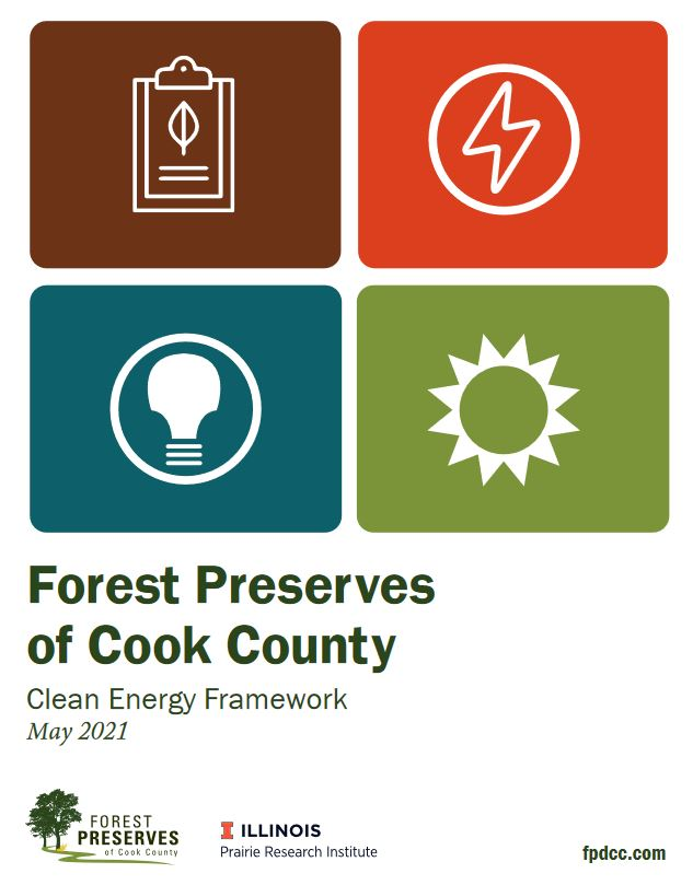 Forest Preserves of Cook County Clean Energy Framework cover
