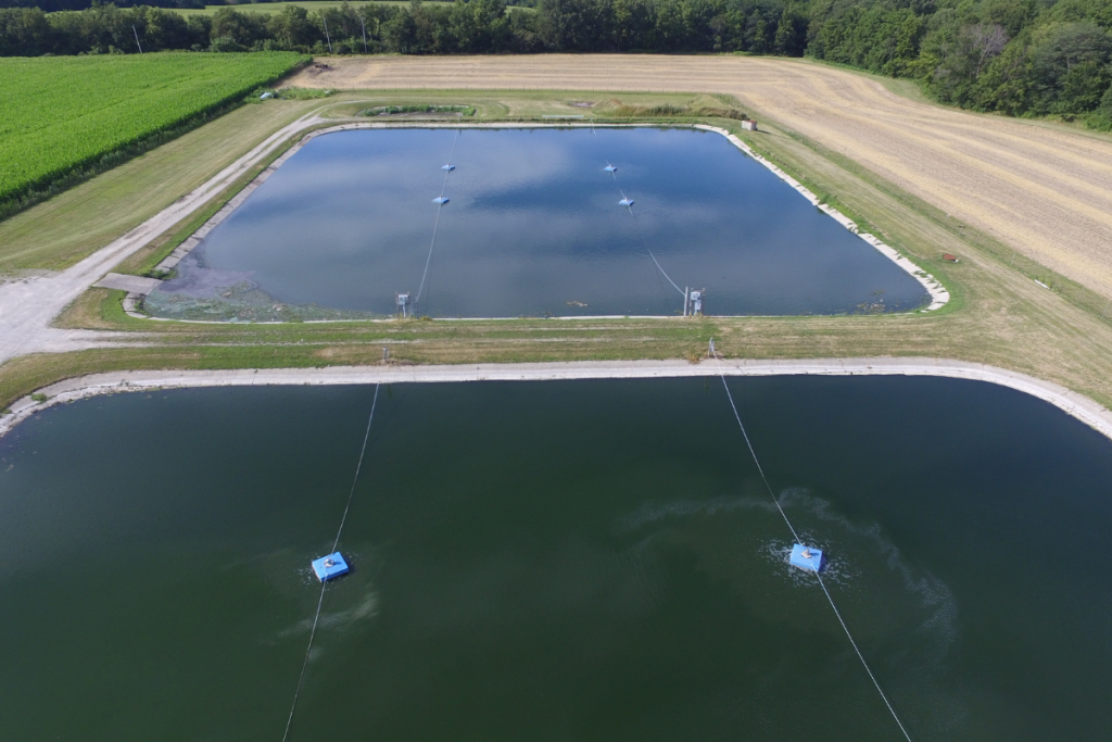 Example of micro bubble aeration floats Credit: John Jacobs, WTR Solutions